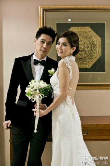 ella chen and alvin lai second wedding in malaysia photos