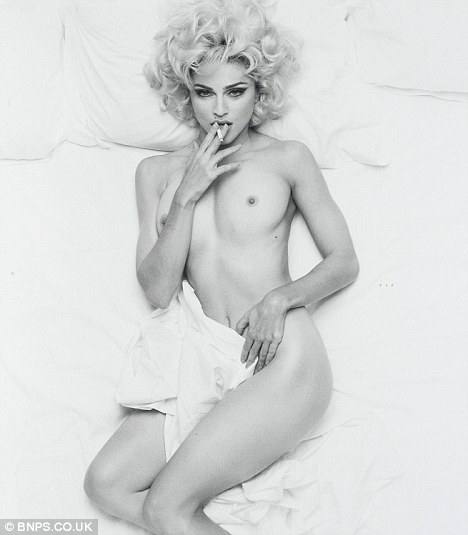 Madonna Nude Photo Sold 94