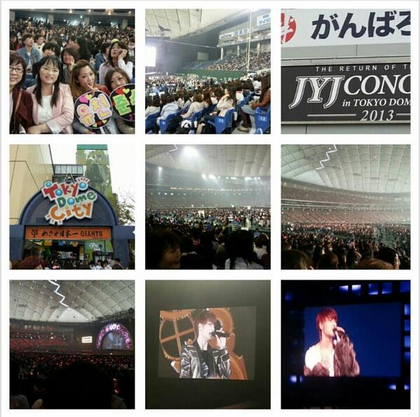 Jaejoong's Birth Mom Tokyo Dome 2
