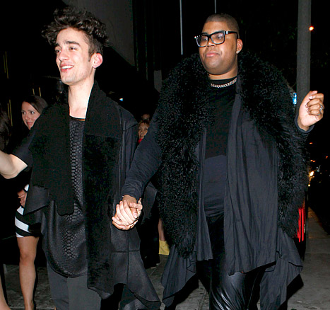 Magic Johnson Son EJ and Boyfriend