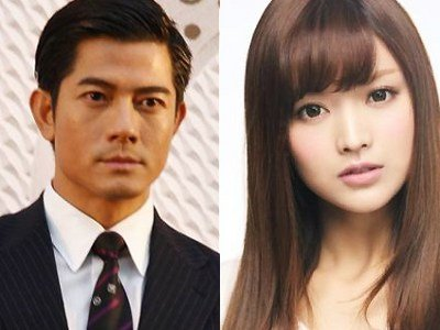 Aaron Kwok and Anna Kay