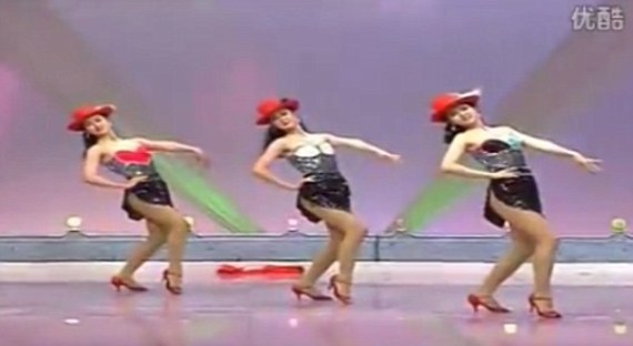 This video of three Korean women dancing is rumoured to be the 'sex tape' used to justify the execution of Kim Jong-Un's ex-girlfriend Hyon Song-wol and 11 other entertainers