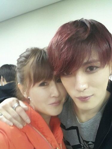 Kim Suk Jin and Jaejoong. Photo Credit; Kim Suk Jin's Twitter