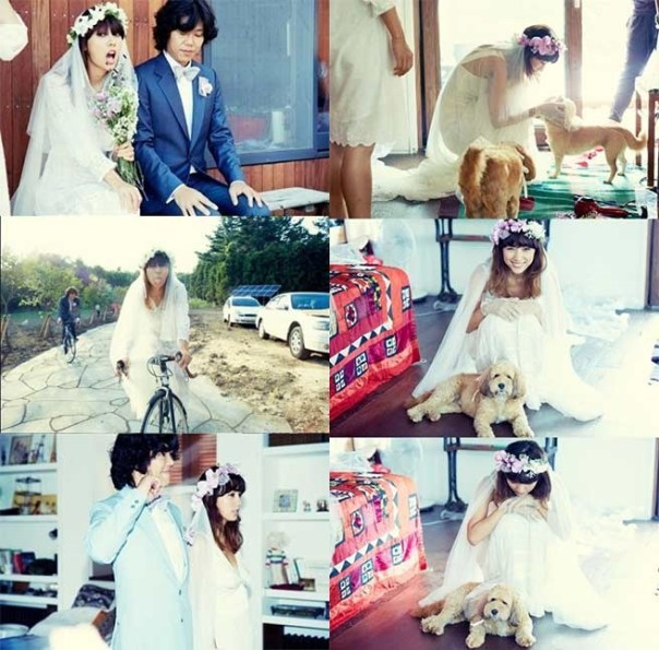 Lee Hyori and Lee Sang Soon Wedding 2